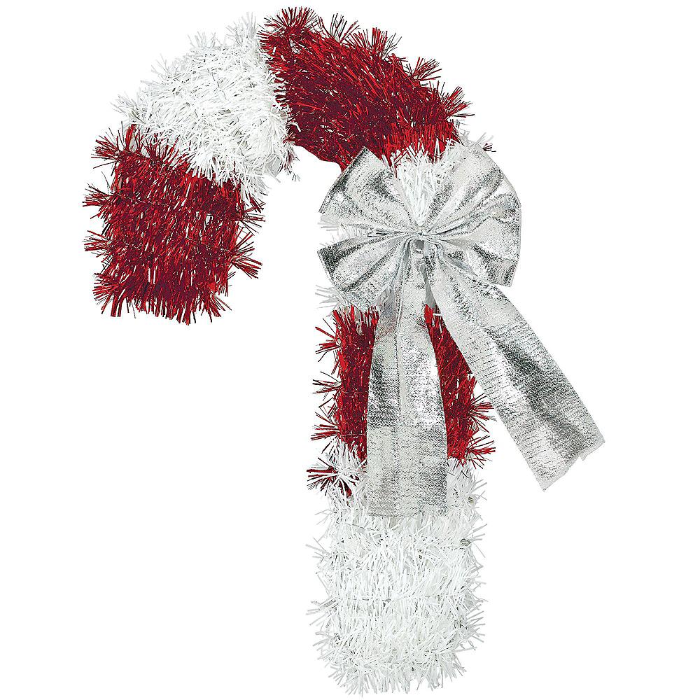 Candy Cane Tinsel Christmas Decorating Kit Image #3