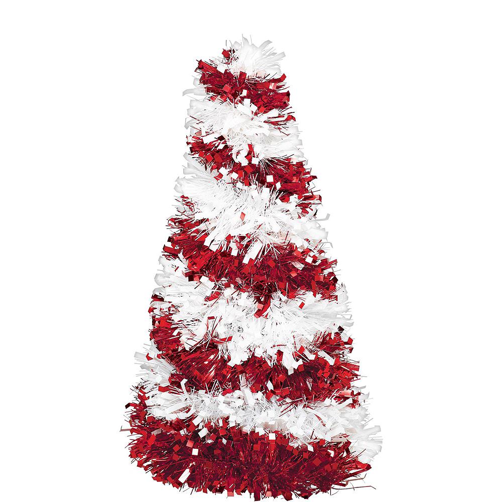 Candy Cane Tinsel Christmas Decorating Kit Image #4