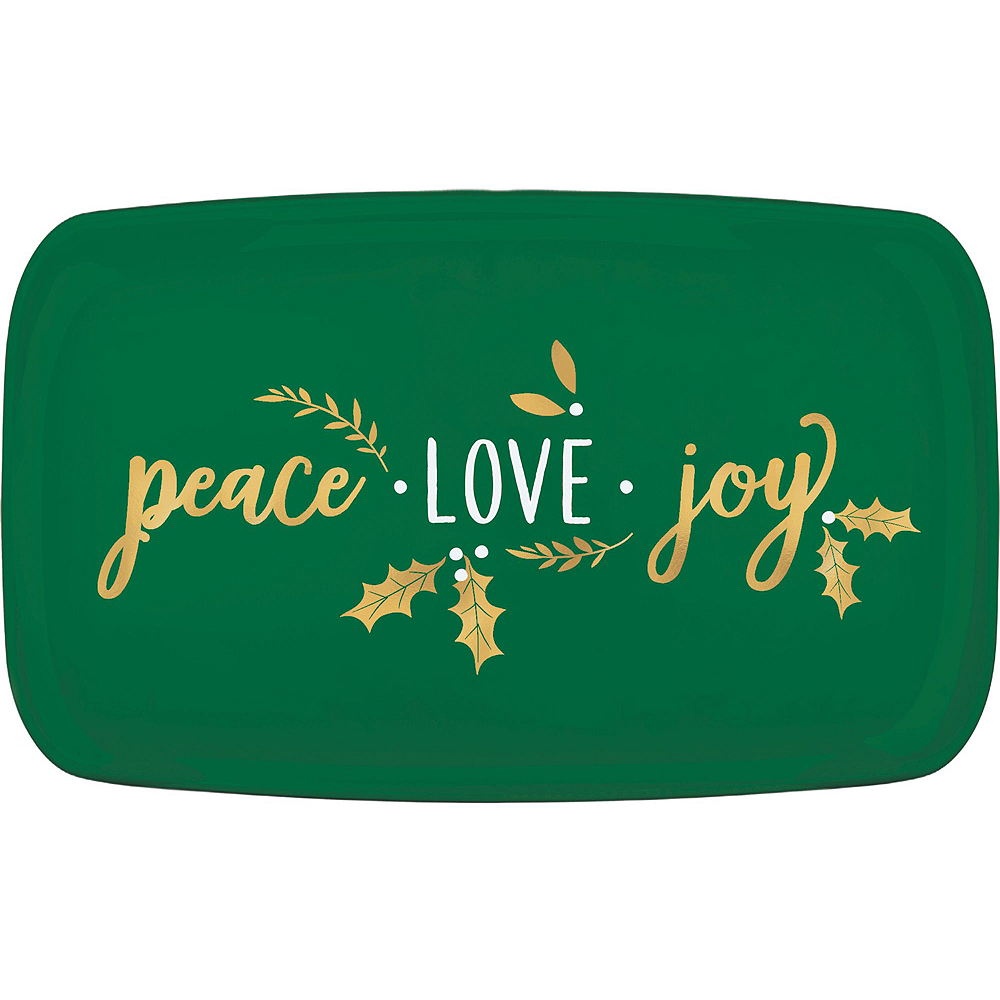 Nav Item for Metallic Peace, Love, Joy Appetizer Kit for 12 Image #5