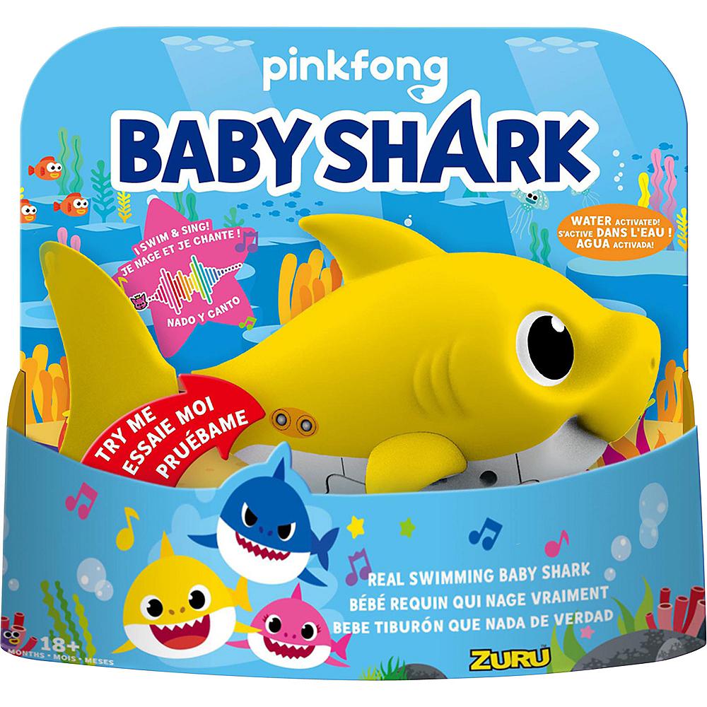 Animated Yellow Baby Shark Image #1