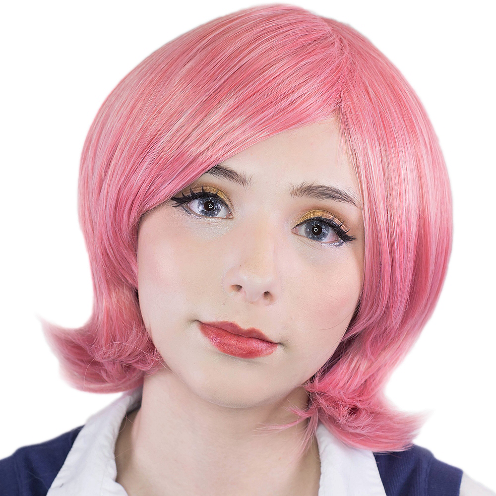 Princess Dark Pink Mix Chronus Wig Image #1