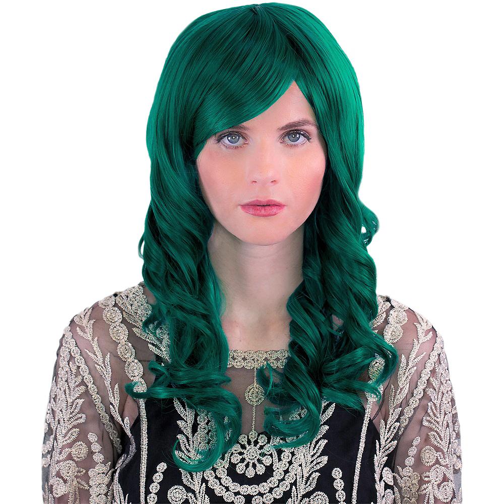 Emerald Green Hestia Wig Image #1