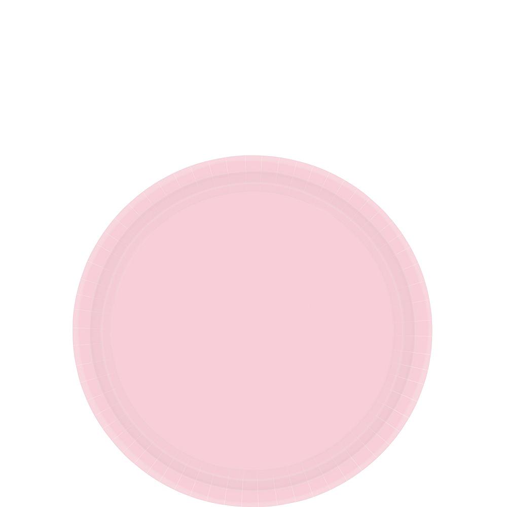 Blush Pink Paper Dessert Plates 20ct Image #1