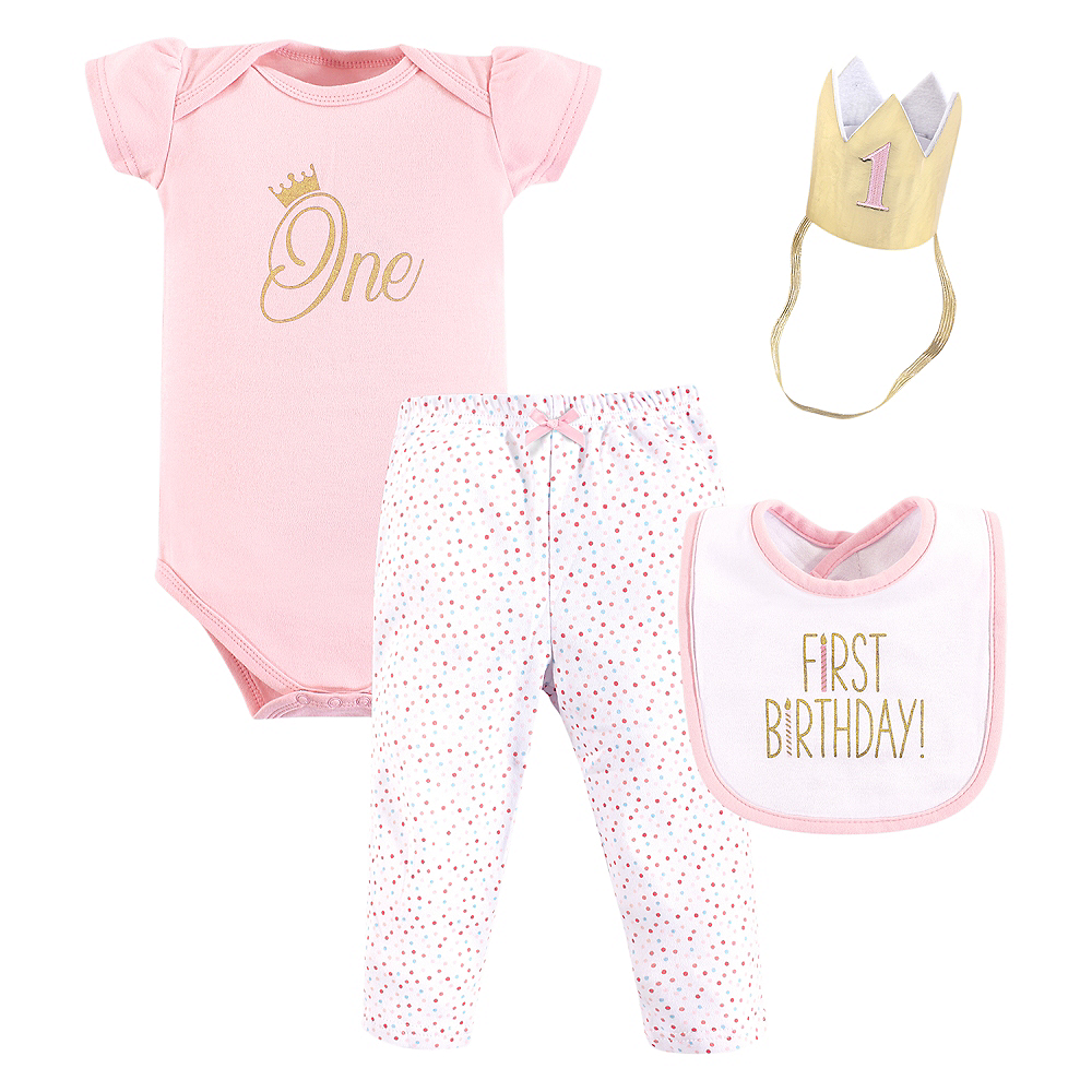 Hudson Baby One Outfit Set 3pc Image #1