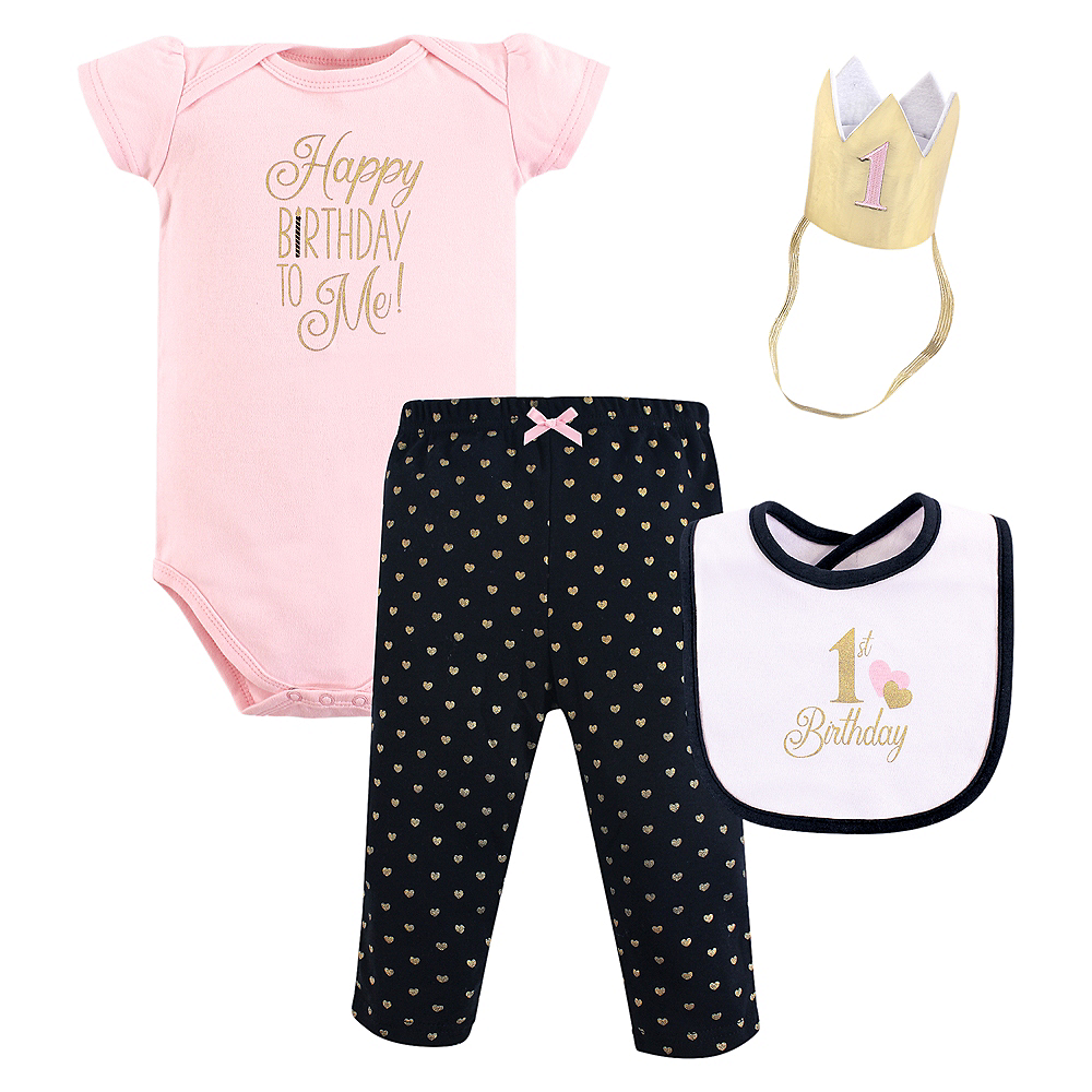 Happy Hudson Baby Outfit Set 3pc Image #1