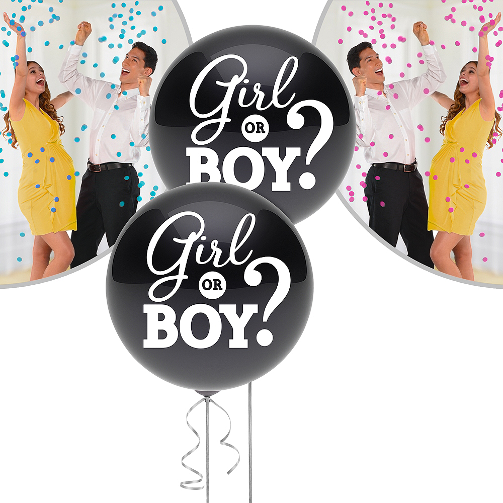 Gender Reveal Balloon Kit Image #1