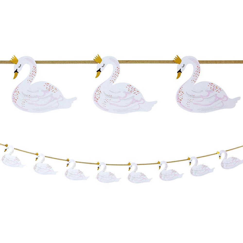 Swan Baby Shower Decorating Kit Image #4