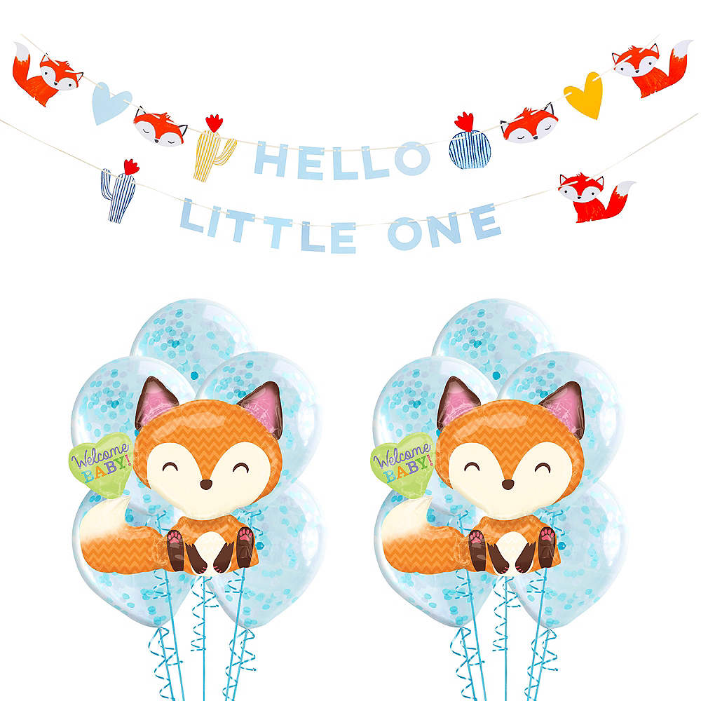 Baby Fox Decorating Kit Image #1