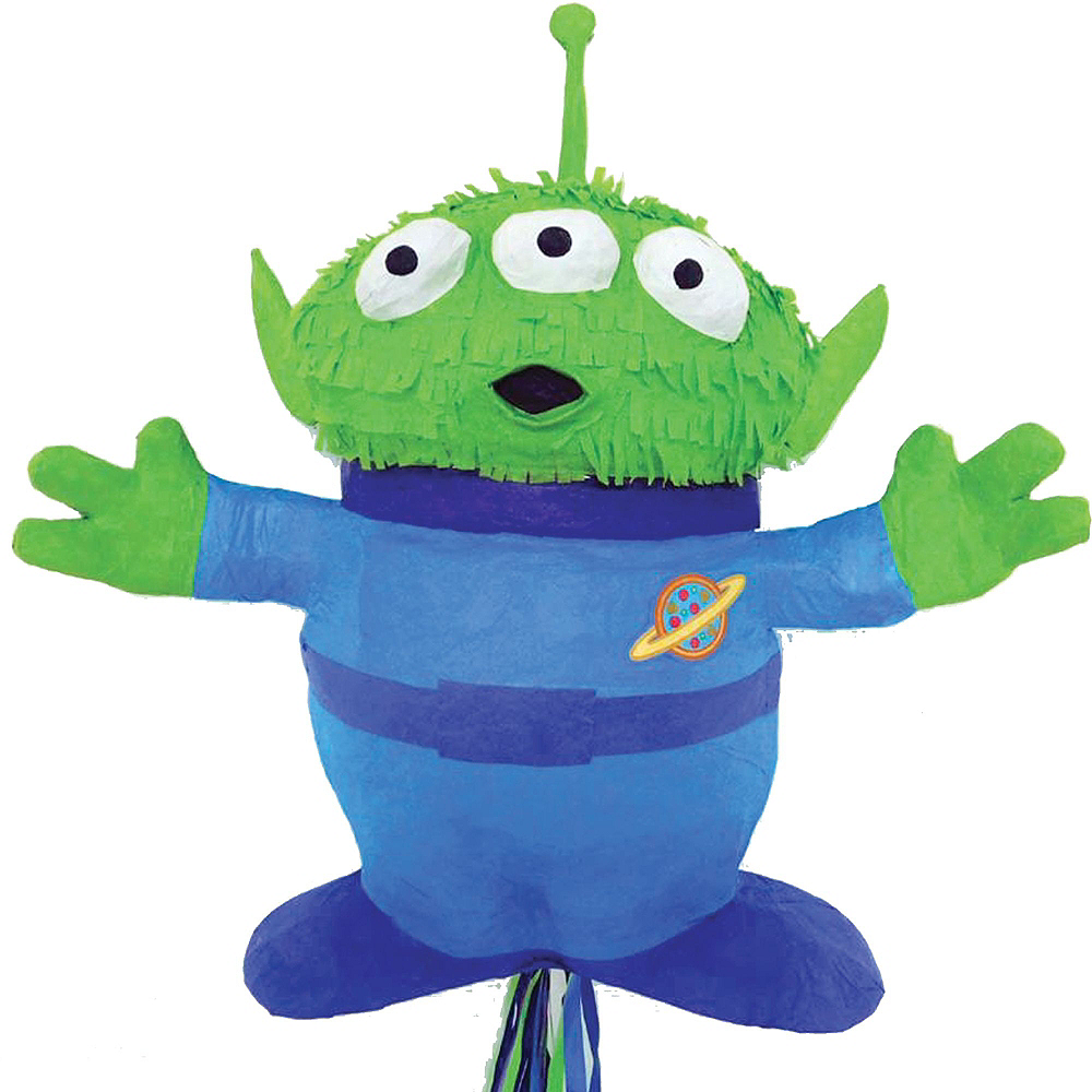 Nav Item for Pull String Alien Pinata Kit with Candy & Favors - Toy Story 4 Image #5