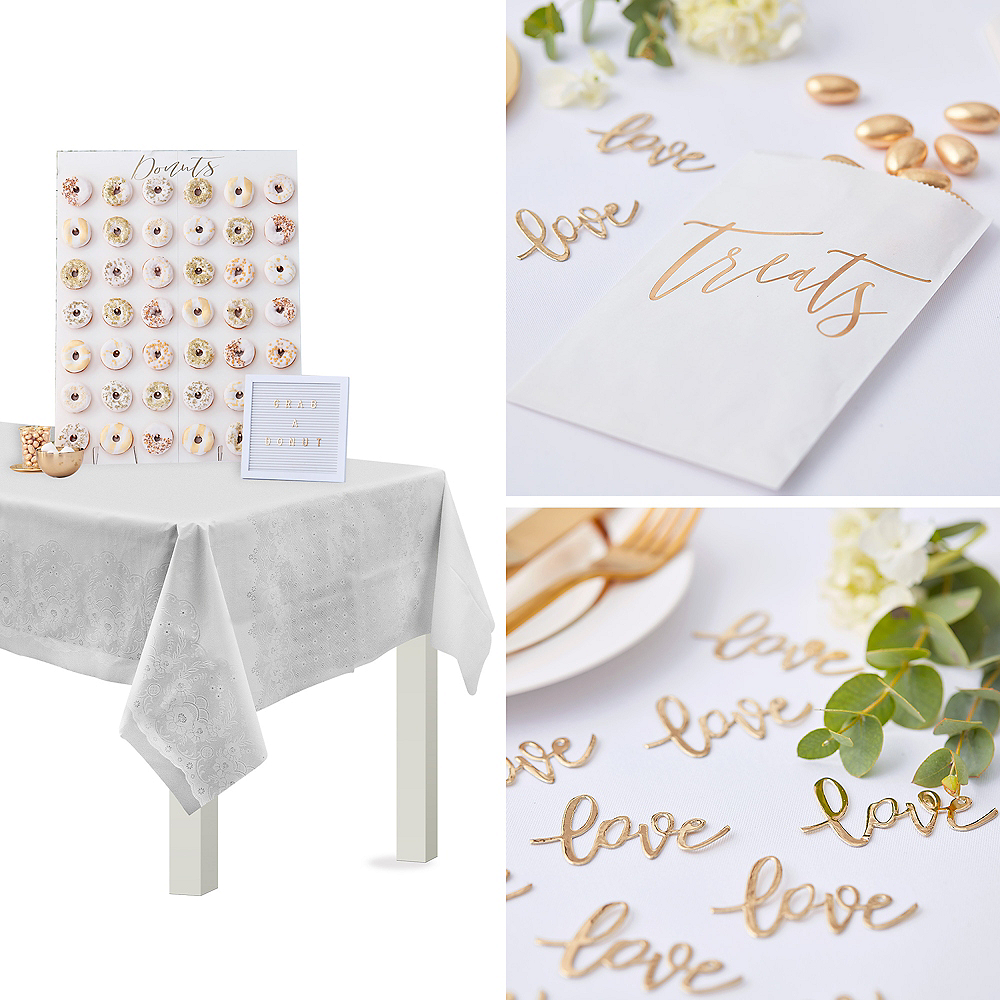Metallic Gold Treat Table Decorating Kit Image #1