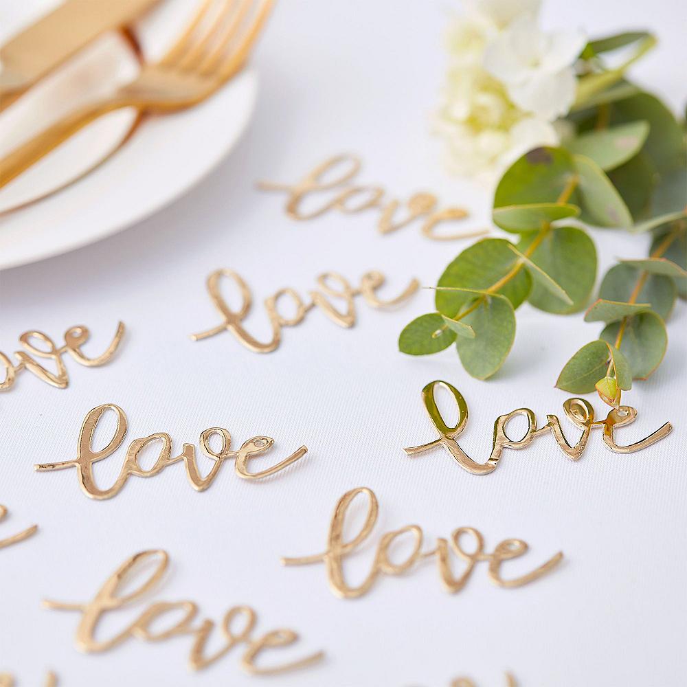 Metallic Gold Treat Table Decorating Kit Image #6