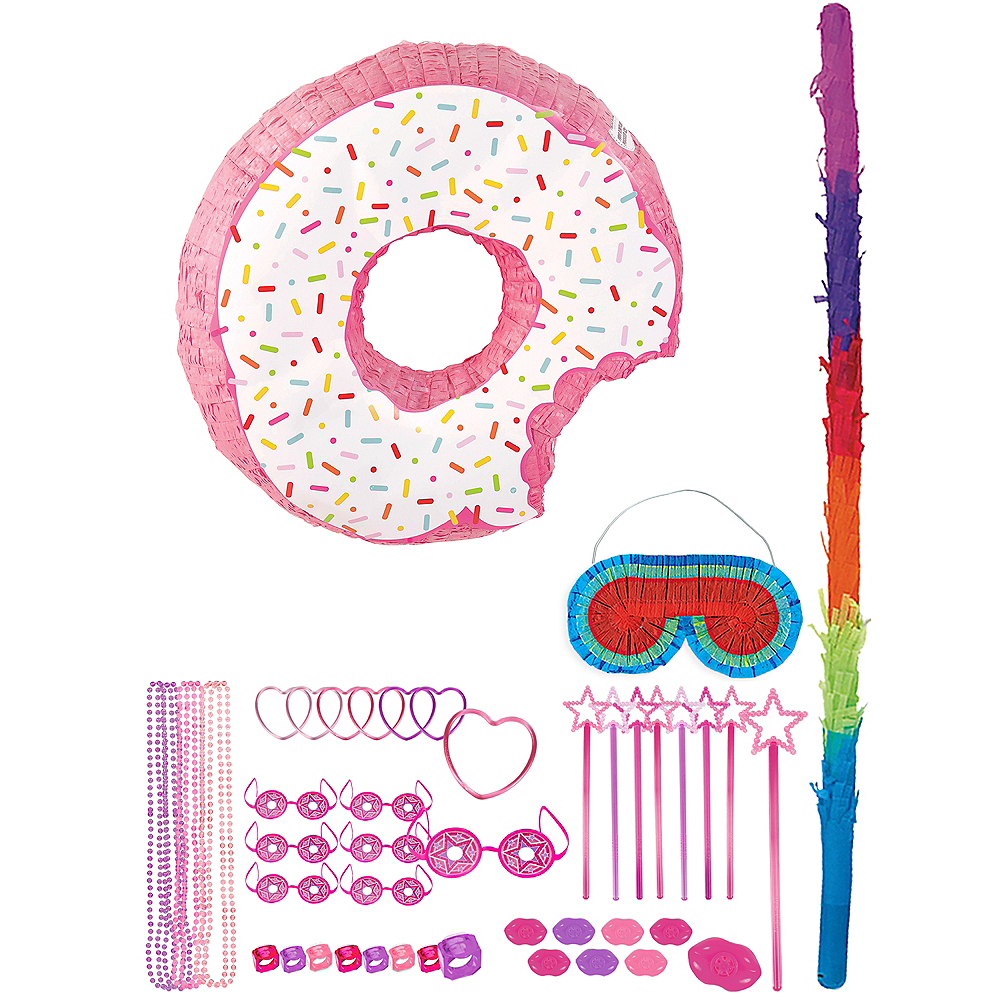 Donut Pinata with Favors Image #1