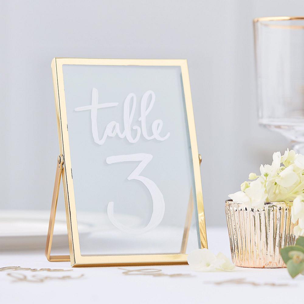Metallic Gold Wedding Reception Table Kit Image #2