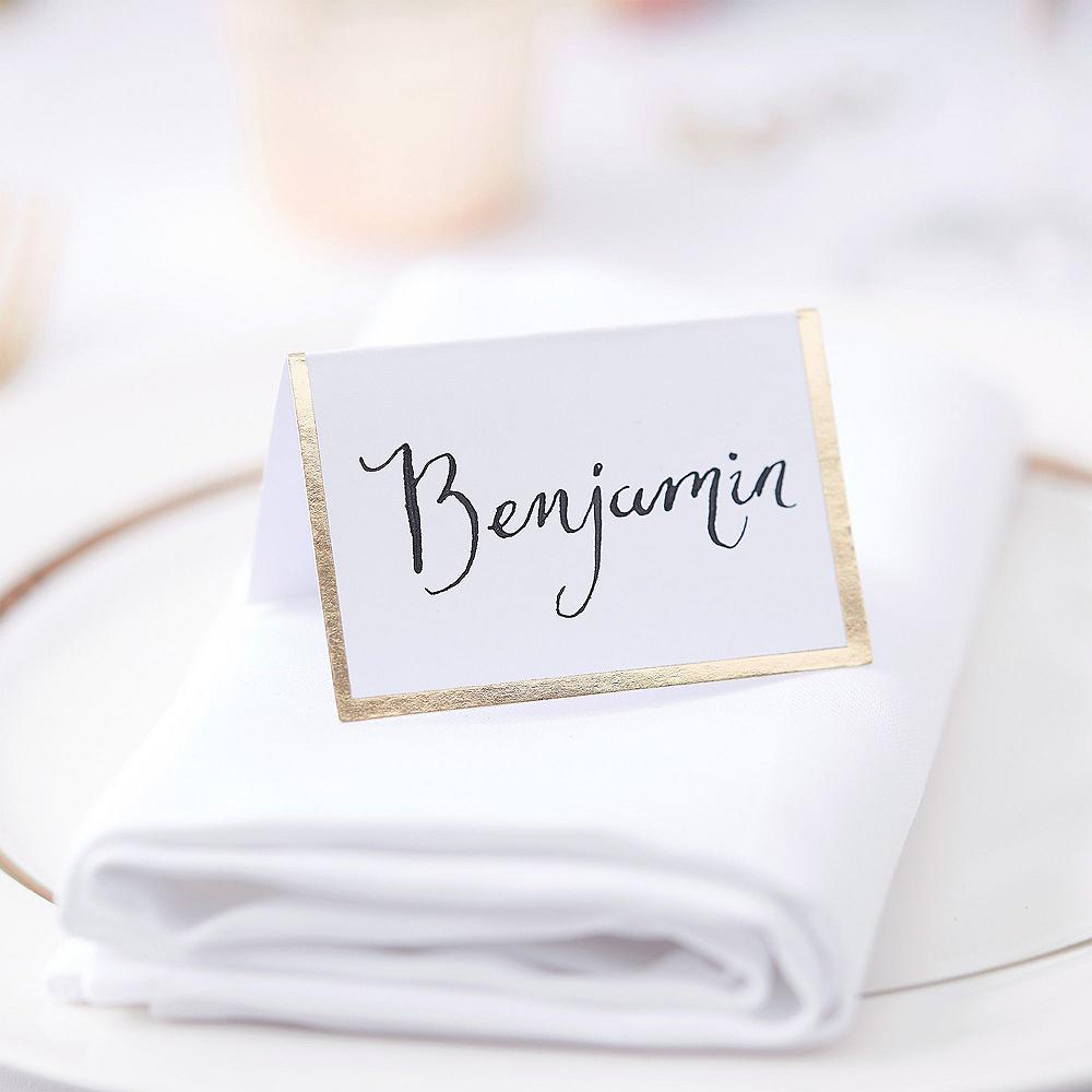 Metallic Gold Wedding Reception Table Kit Image #3
