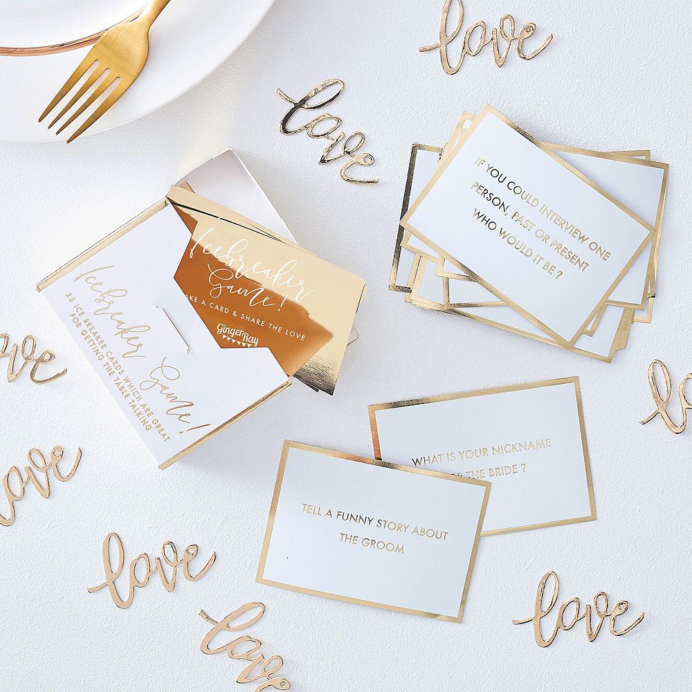 Metallic Gold Wedding Reception Table Kit Image #5