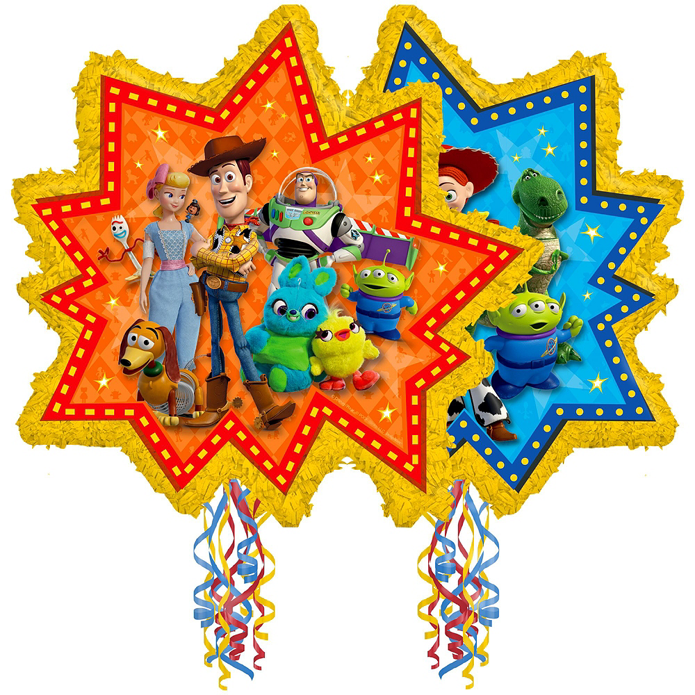 Pull String Toy Story 4 Pinata Kit with Candy Image #2
