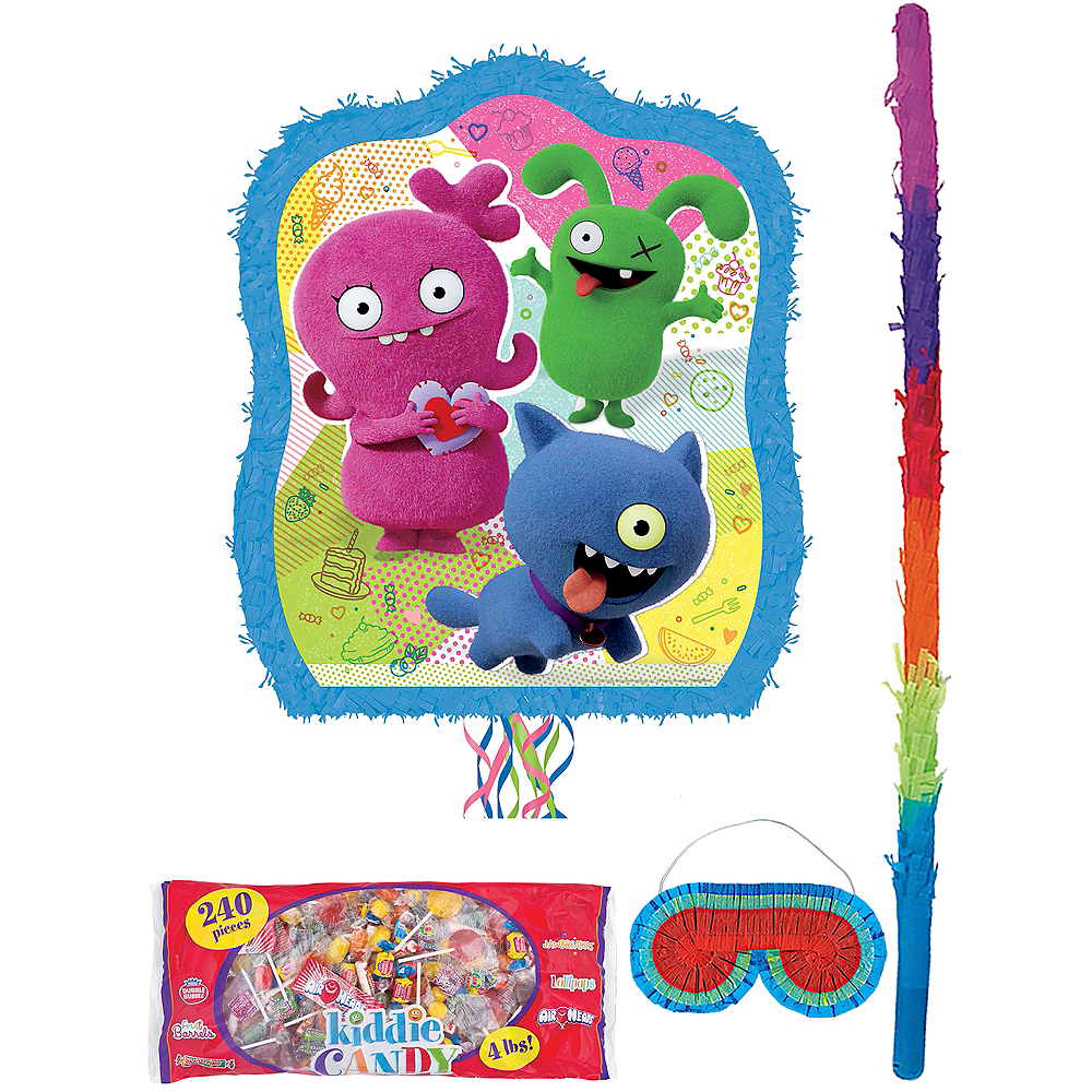 Pull String UglyDolls Pinata Kit with Candy Image #1