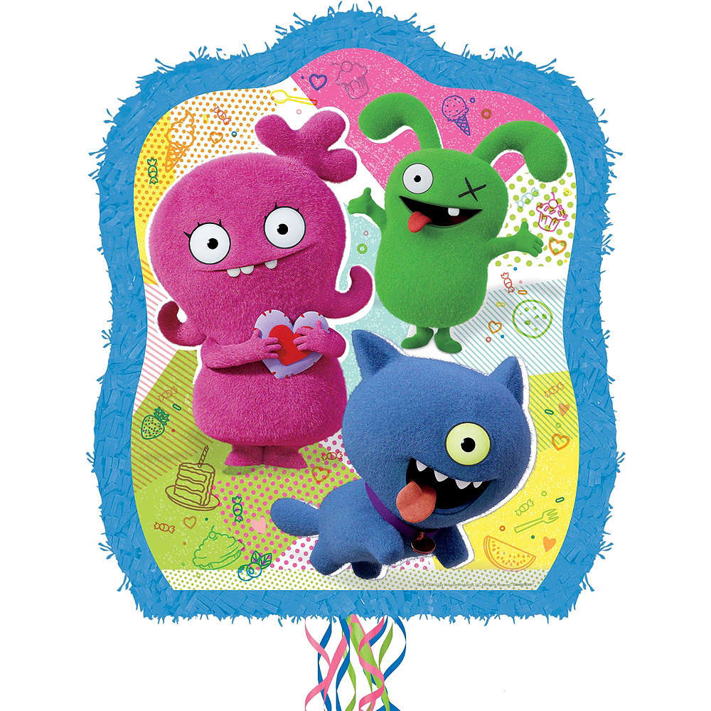 Pull String UglyDolls Pinata Kit with Candy Image #2