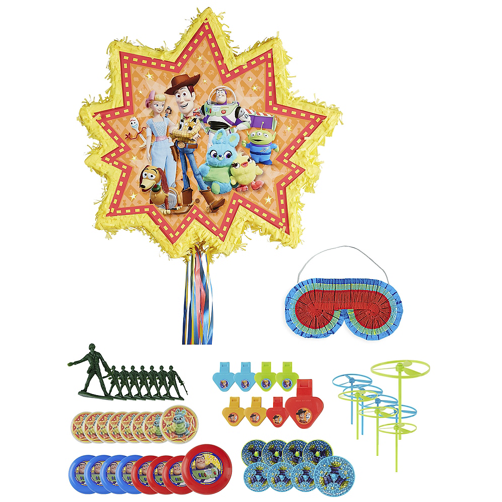 Pull String Toy Story 4 Pinata Kit with Favors Image #1