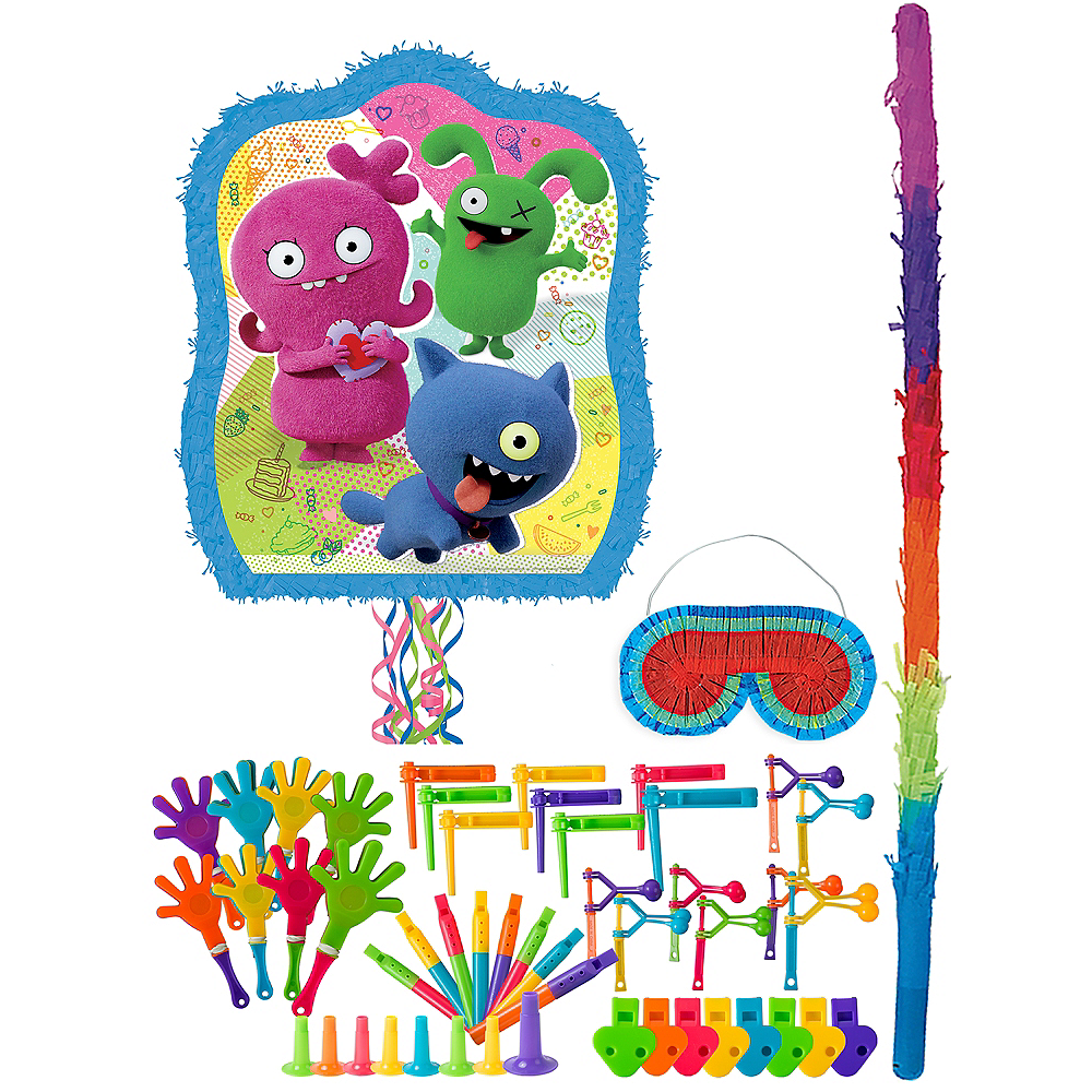 Pull String UglyDolls Pinata Kit with Favors Image #1