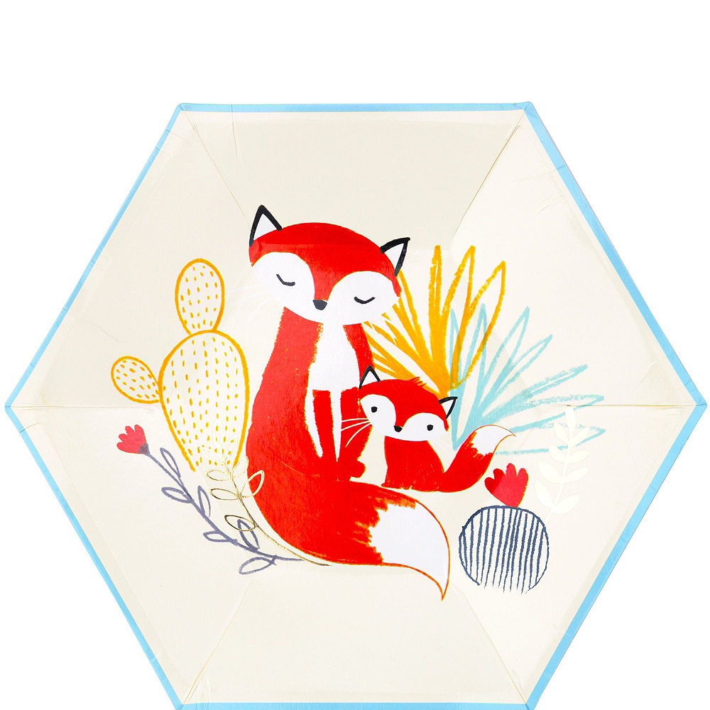 Baby Fox Tableware Kit for 16 Guests Image #3