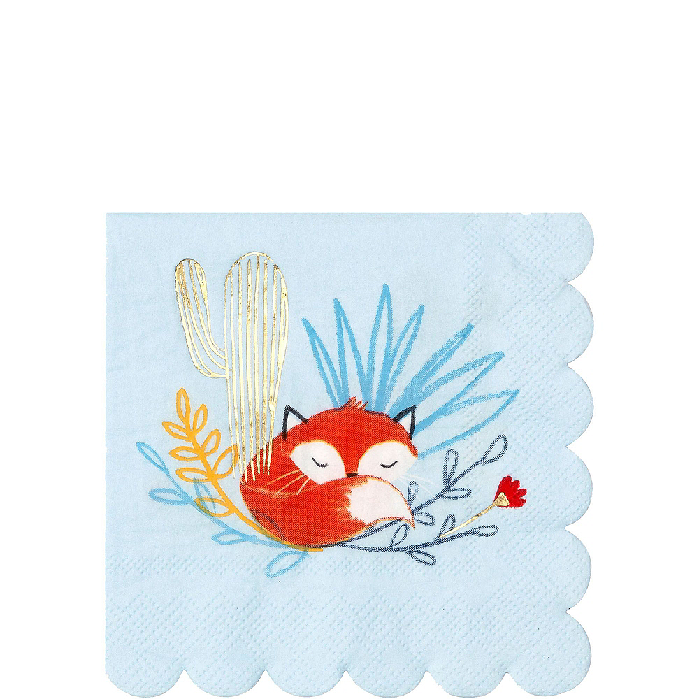 Baby Fox Tableware Kit for 16 Guests Image #4