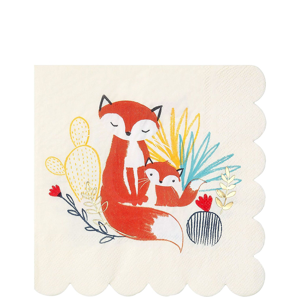 Baby Fox Tableware Kit for 32 Guests Image #5