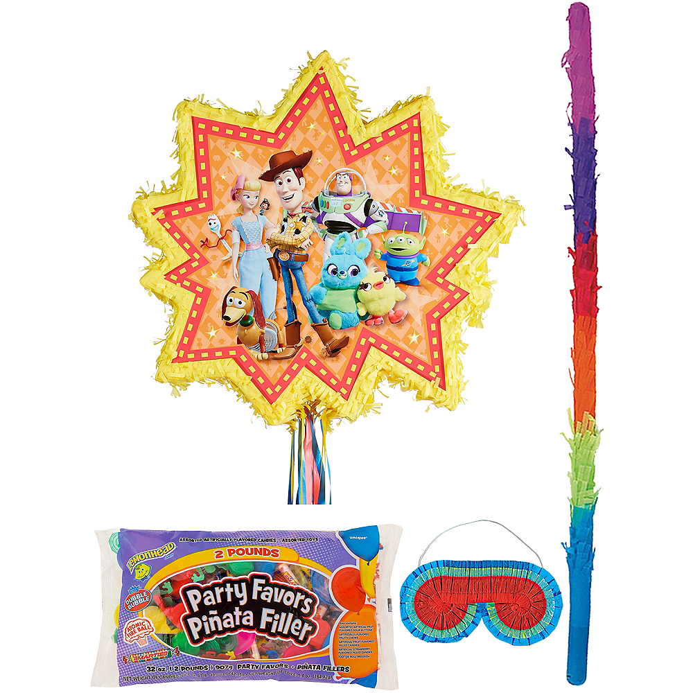 Pull String Toy Story 4 Pinata Kit with Candy & Favors Image #1