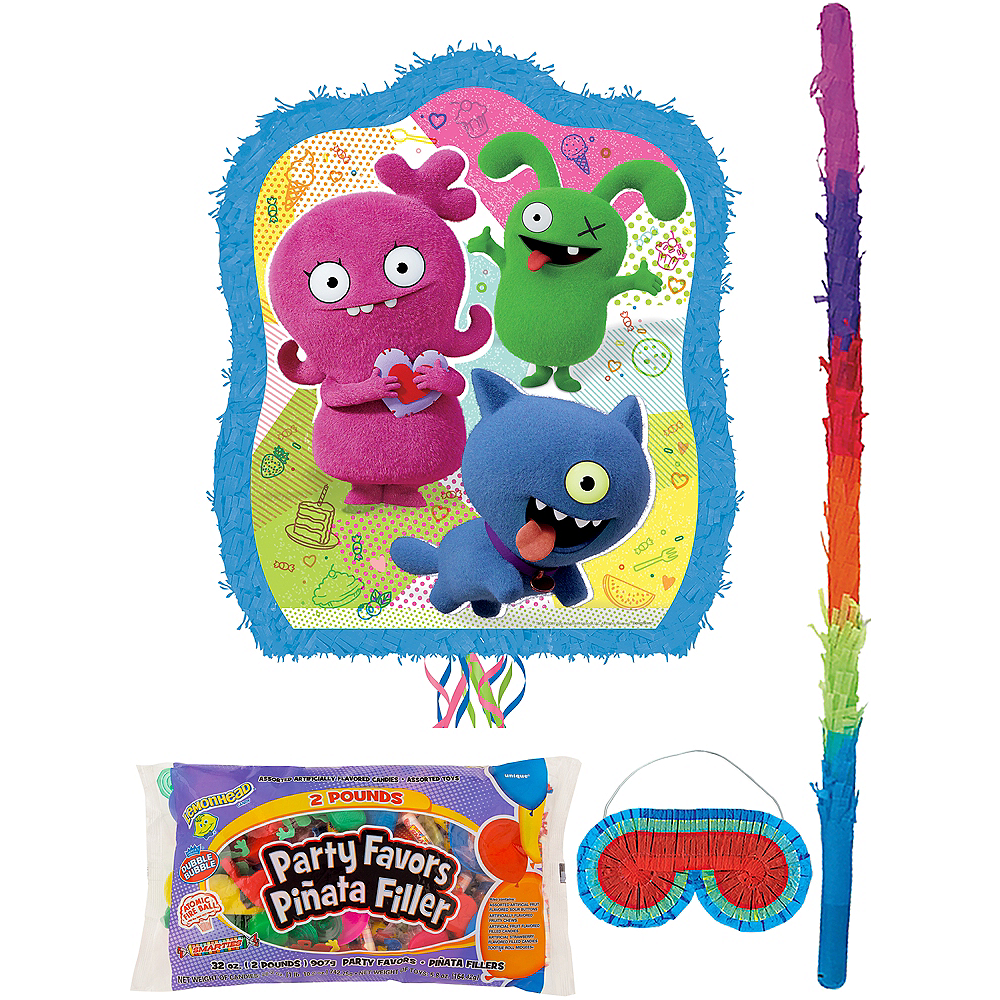 Pull String UglyDolls Pinata Kit with Candy & Favors Image #1