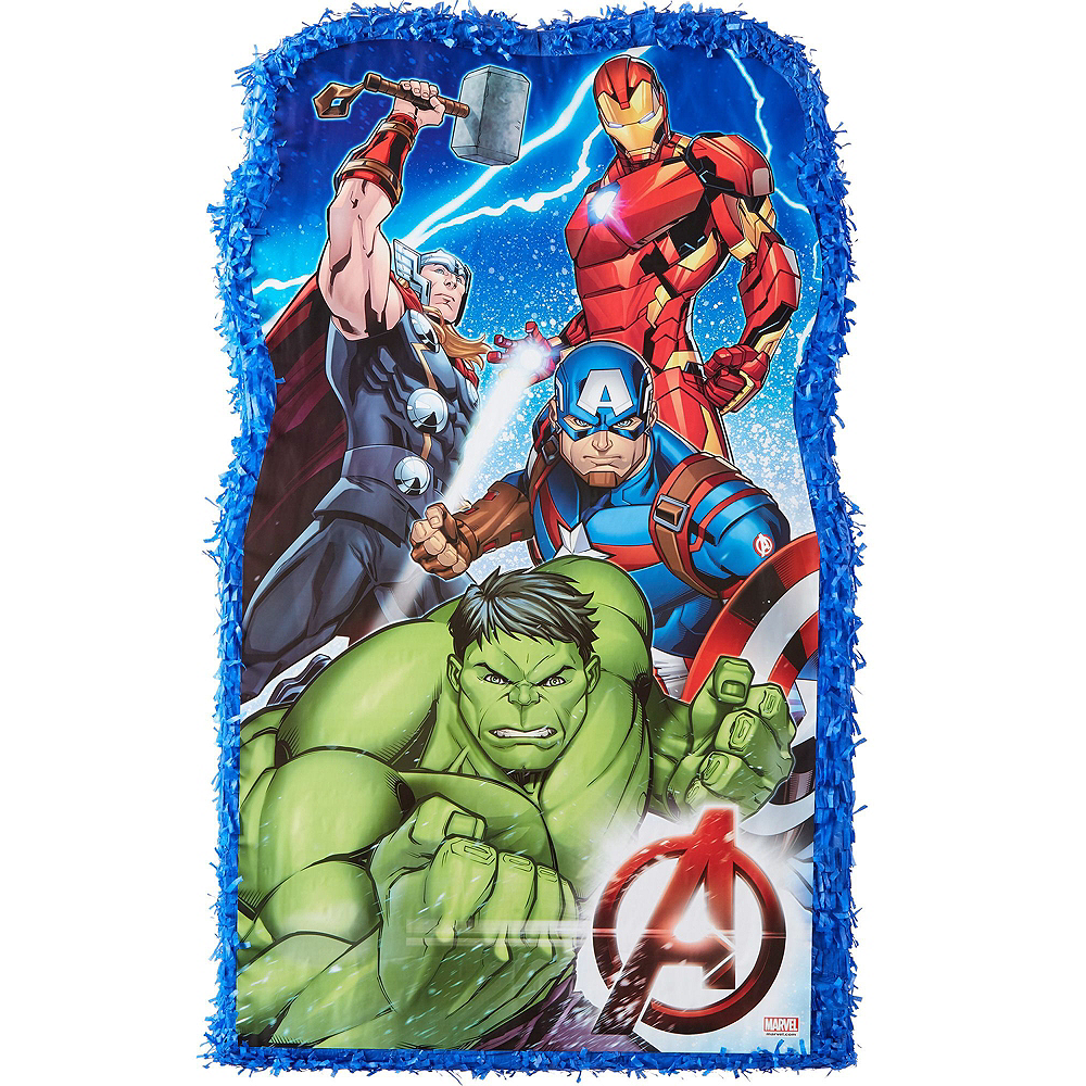 Giant Avengers Pinata Kit with Candy Image #2