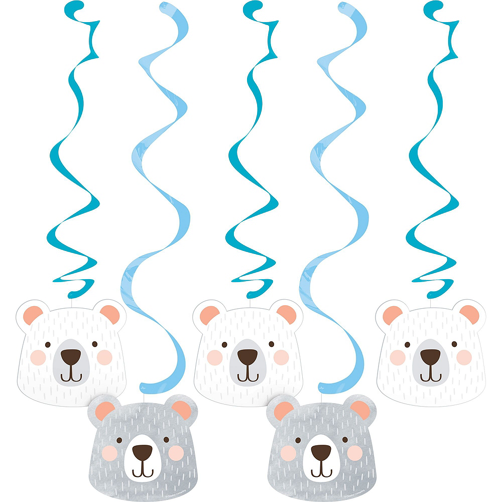 Beary Cute Baby Shower Decorating Kit Image #3