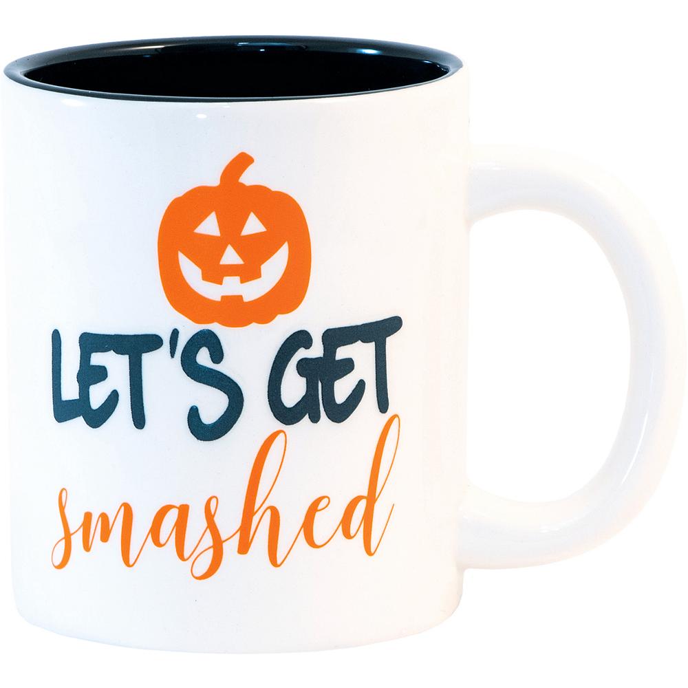 Let's Get Smashed Halloween Mug Image #1