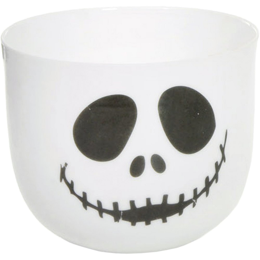 Happy Skull Face Votive Candle Holder Image #1