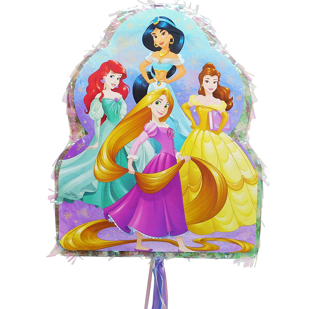 Pull String Disney Princess Pinata Image #2