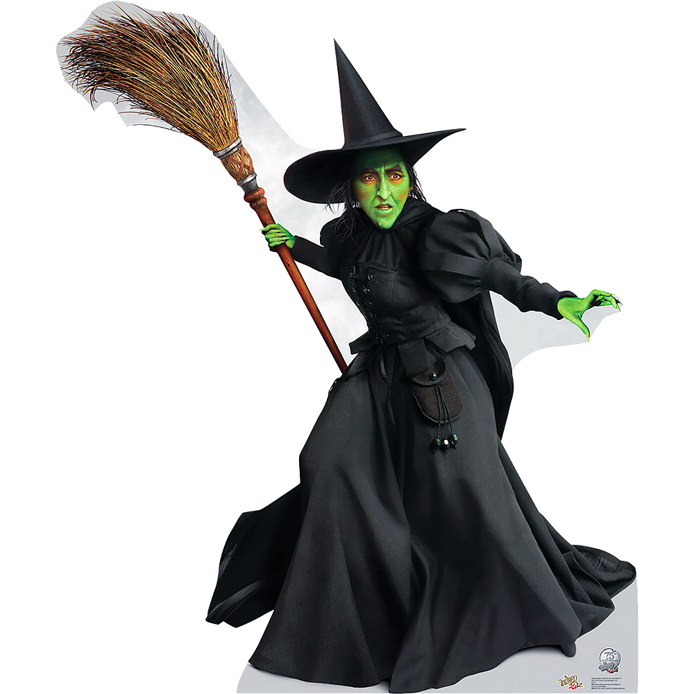 Wicked Witch of the West Life-Size Cardboard Cutout - Wizard of Oz 75th Anniversary Image #1
