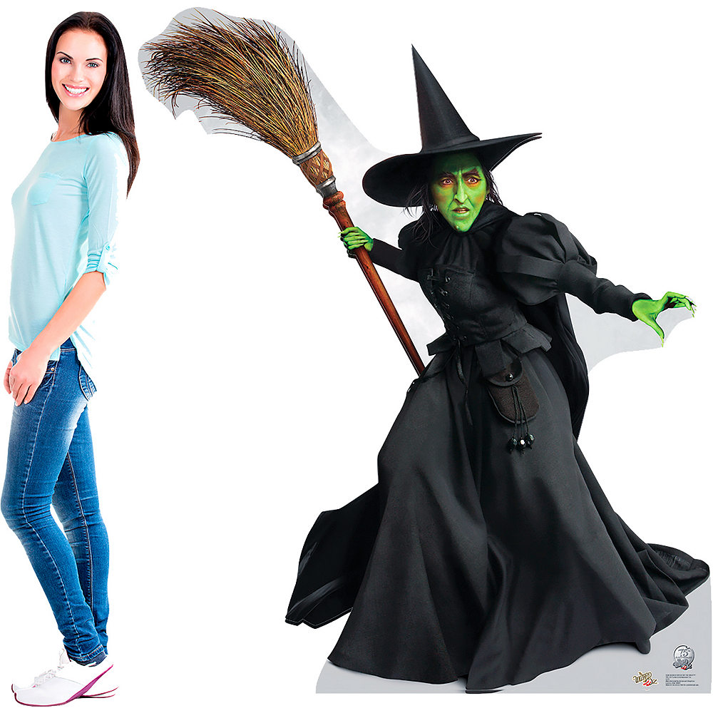 Wicked Witch of the West Life-Size Cardboard Cutout - Wizard of Oz 75th Anniversary Image #2