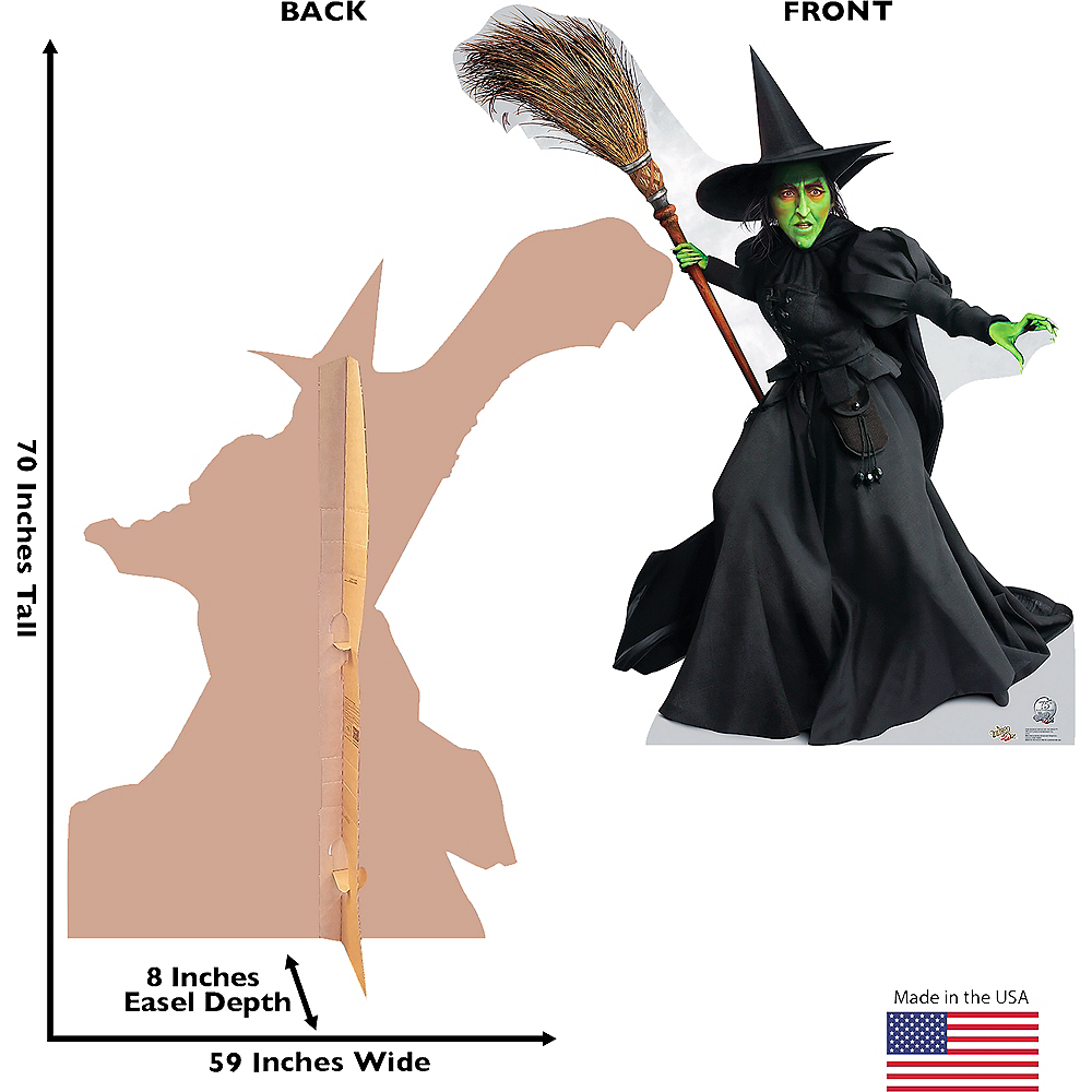 Wicked Witch of the West Life-Size Cardboard Cutout - Wizard of Oz 75th Anniversary Image #3