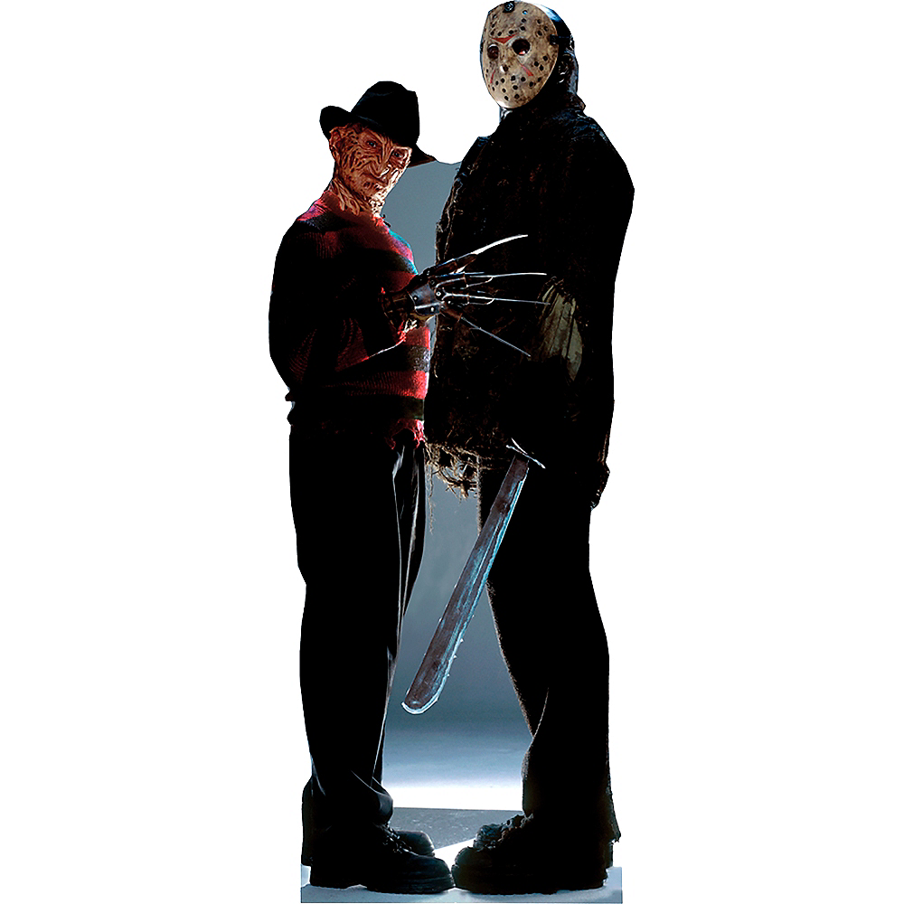 Nav Item for Freddy vs. Jason Life-Size Cardboard Cutout Image #1