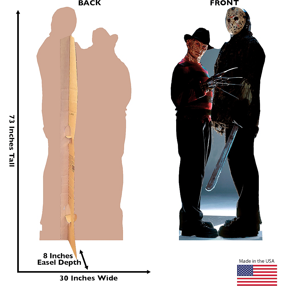 Nav Item for Freddy vs. Jason Life-Size Cardboard Cutout Image #2