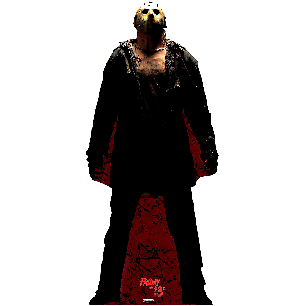 Jason Voorhees Dark Life-Size Cardboard Cutout - Friday 13th Image #1