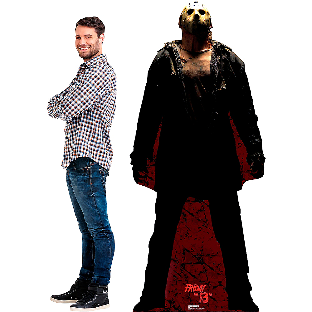 Jason Voorhees Dark Life-Size Cardboard Cutout - Friday 13th Image #2
