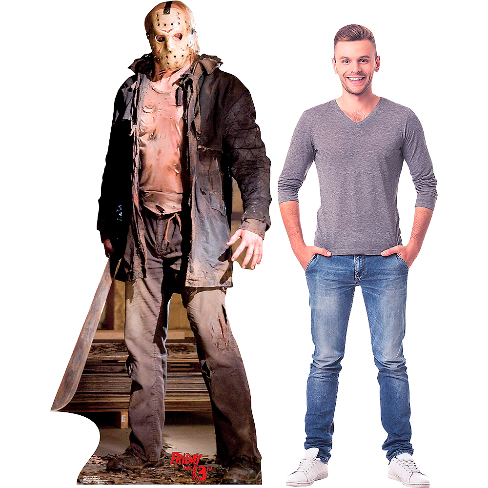 Jason Voorhees Knife Life-Size Cardboard Cutout Image #2
