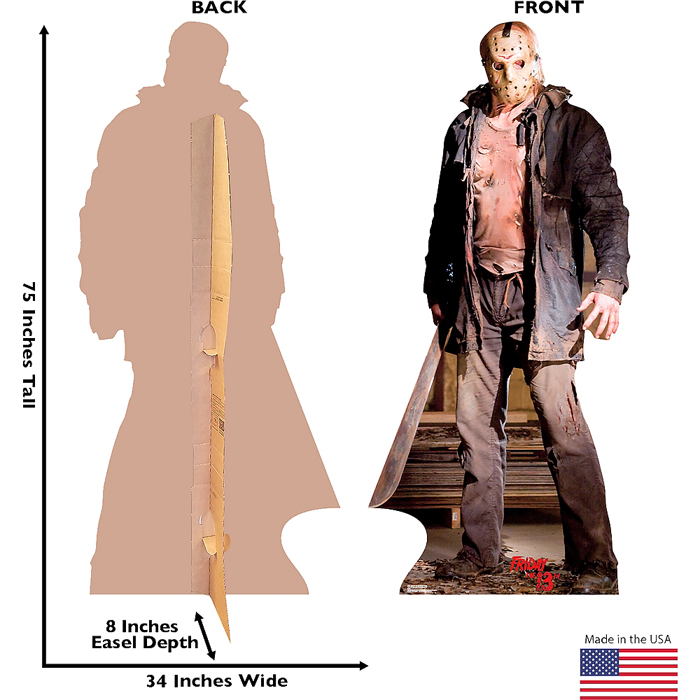 Jason Voorhees Knife Life-Size Cardboard Cutout Image #3