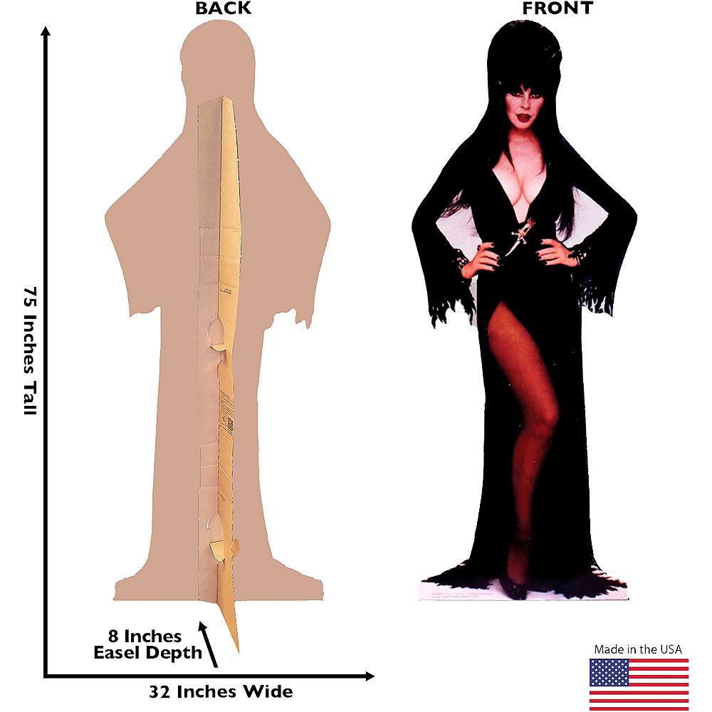 Elvira Life-Size Cardboard Cutout with Sound - Elvira: Mistress of the Dark Image #3