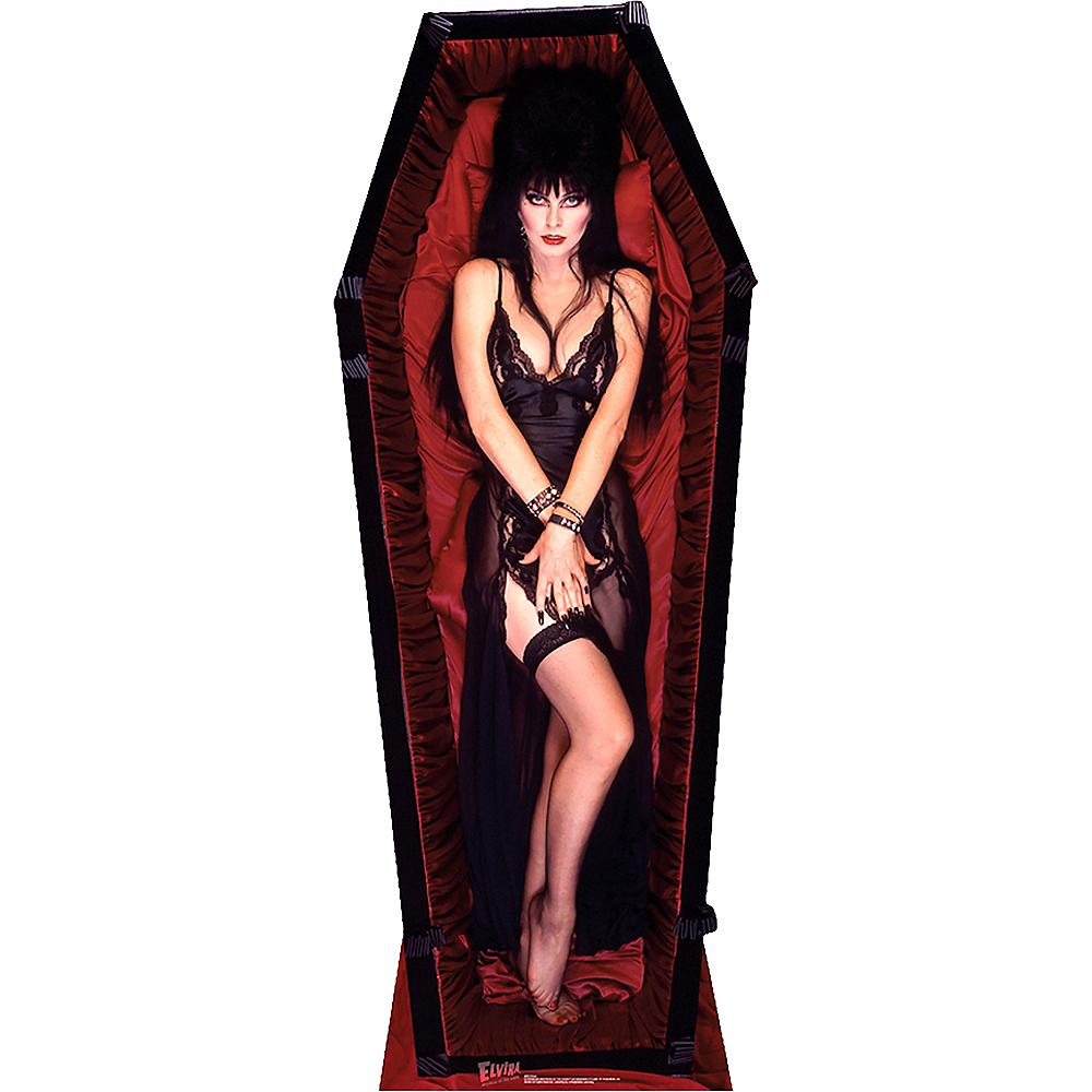 Elvira Coffin Life-Size Cardboard Cutout - Elvira: Mistress of the Dark Image #1