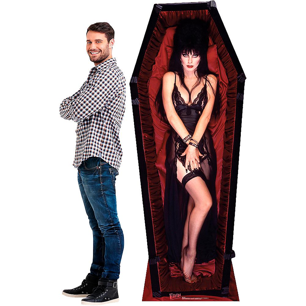 Elvira Coffin Life-Size Cardboard Cutout - Elvira: Mistress of the Dark Image #2
