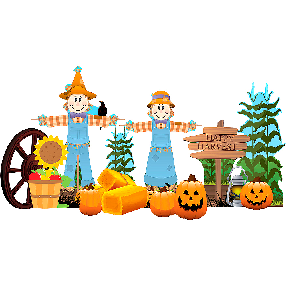Fall Harvest Outdoor Decor Set 18pc Image #1