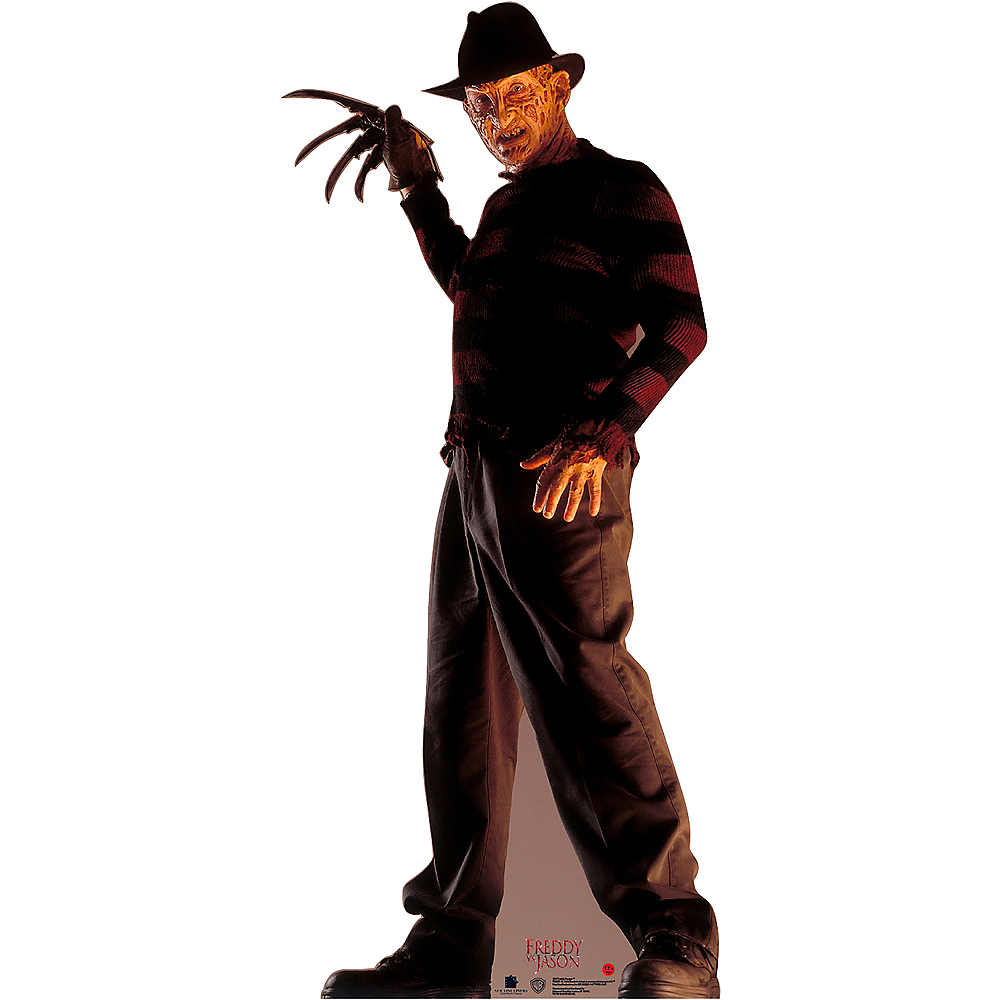 Freddy Krueger Life-Size Plastic Cutout - Friday 13th Image #1