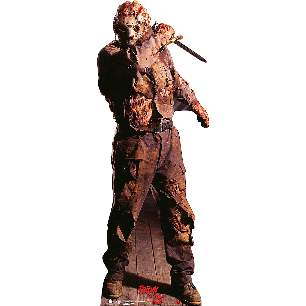 Jason Voorhees Life-Size Plastic Cutout - Friday the 13th Image #1