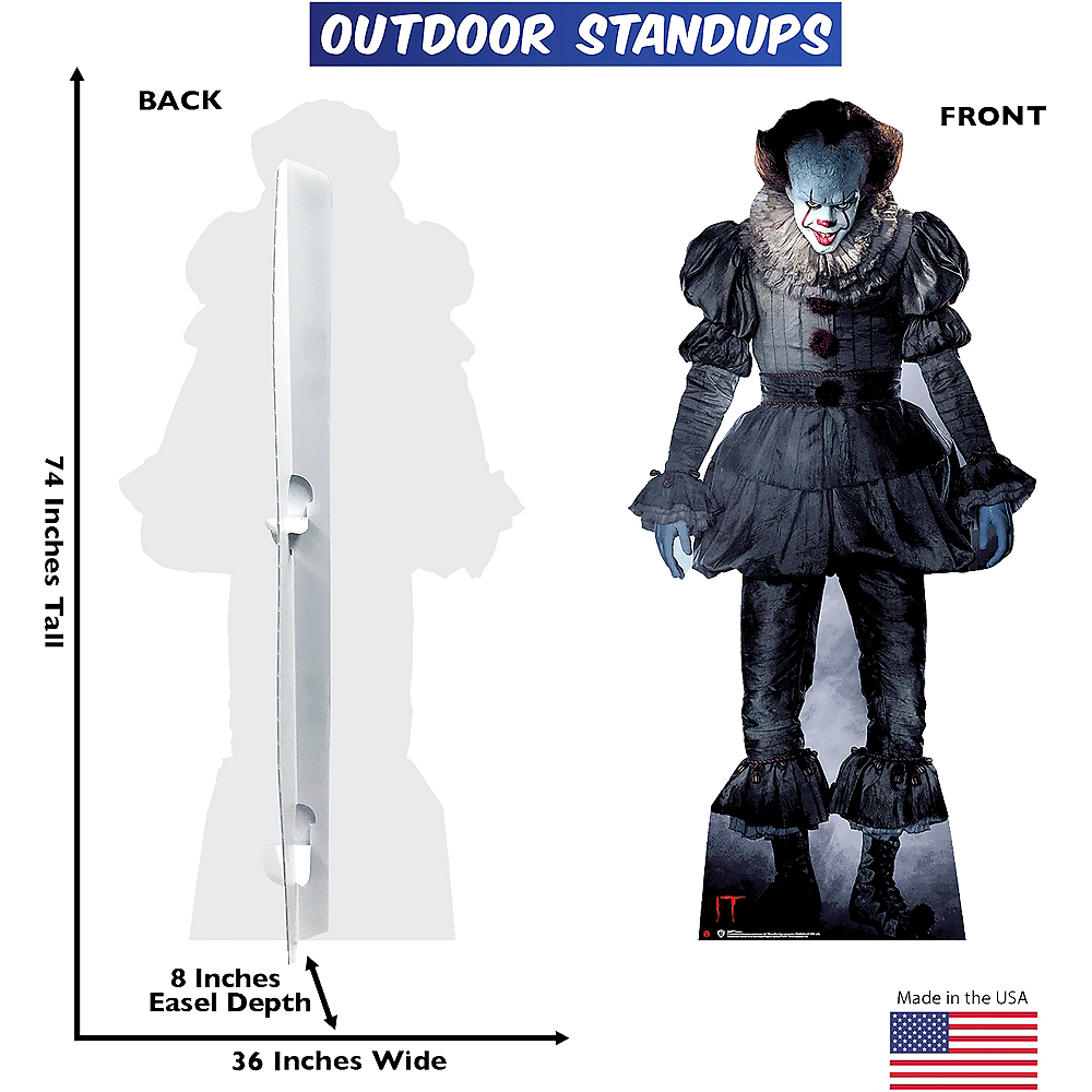 Nav Item for Pennywise Life-Size Plastic Cutout - It Image #2